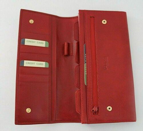 Golunski en cuir véritable Famille Voyage Passeport Porte-documents organisateur Portefeuille