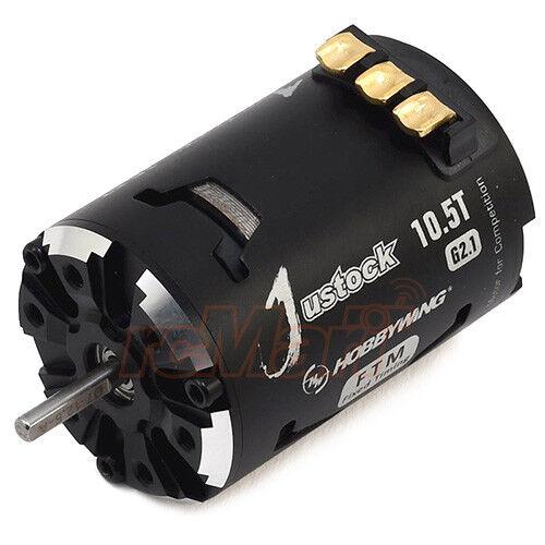 Hobbywing XERUN Justock 10.5T motor sin escobillas Sensorojo  Justock - 10.5T - Negro-G2.1
