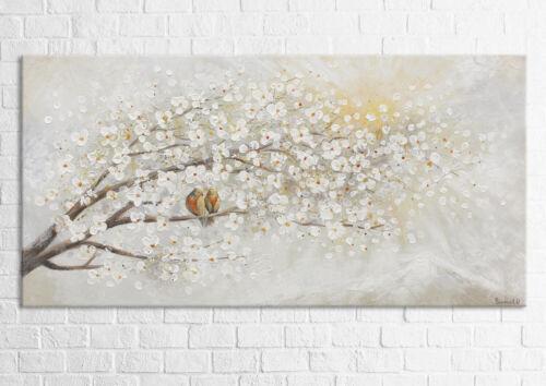 Acryl Gemälde Sonnenaufgang Handgemalte Bilder Leinwand Bild Kunst PS005