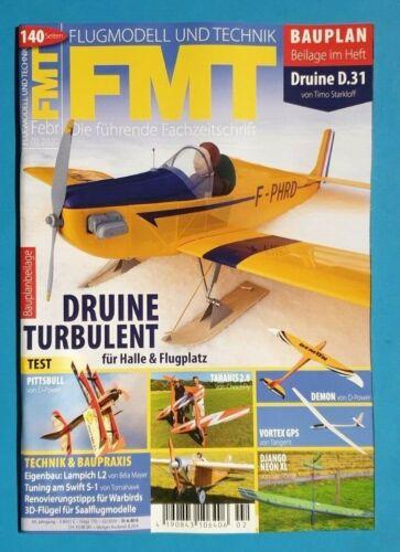 Flug Modell und Technik FMT Februar//02//2020 ungelesen 1A absolut TOP