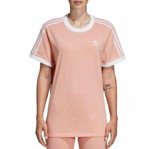 adidas 3 Stripes Rosa Camiseta Mujer   Sprinter