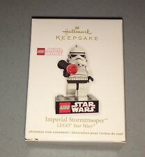 Hallmark Lego Star Wars Stormtrooper Minifigure Ornament