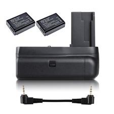 Battery Grip For Canon EOS 1100D 1200D 1300D Rebel T3/T5/T6/ Camera + 2x LP-E10