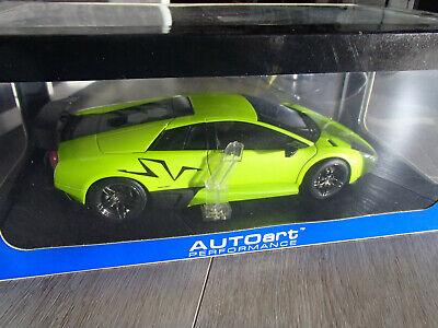 1/18 - Lamborghini Murcielago Sv - Verte - Autoart Evidente Effetto