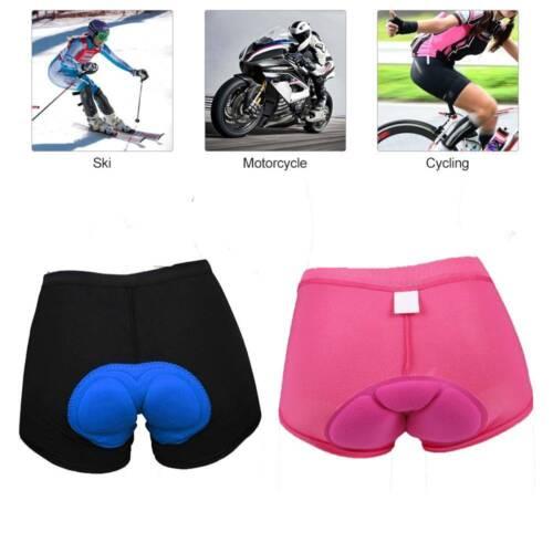 Women 3D Bicycle Cycling Bike Shorts Underwear Soft Pants Gifts UK