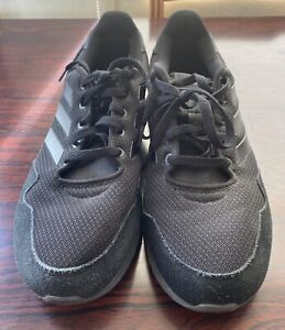 Adidas-Cloud-Foam-Mens-Black-Trainers-UK-Size-10-5