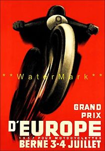 1937-Grand-Prix-Bern-Switzerland-Motorcycle-Sports-Racing-Vintage-Poster-Print