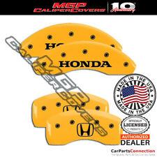 Mgp Caliper Brake Cover Yellow 20107shohyl Front Rear For Honda Accord 2011 2012
