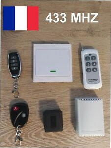 Kit Télécommande à Distance Interrupteur Module Sans Fils 433 Mhz Commande Orjltcy8-07183327-985925873
