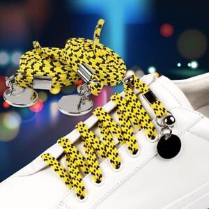 Easy-faul-No-Tie-elastische-Silikon-Shoelaces-Guy-Unisex-Schuh-SchnuerSenkel