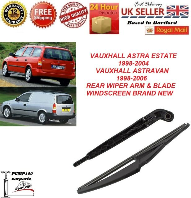 3pcs For Vauxhall Astra H//MK5 Front Rear Side Windscreen Window Wiper Blades