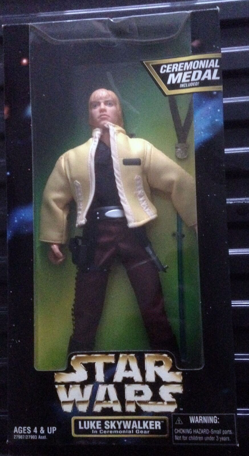 Star Wars Wars Wars Luke Skywalker In Ceremonial Gear 12'' 12e07c