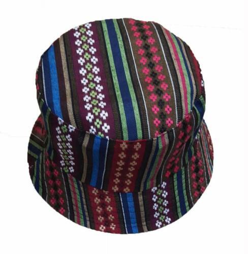 Wigwam Cool réversible Texturé Navajo Motif Coton Seau Chapeau