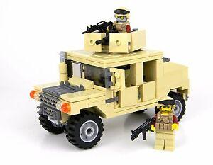 Lego Humvee Building Instructions