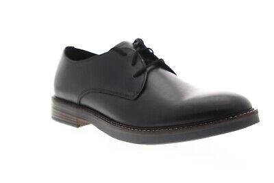 clarks paulson plain 26144792 mens black leather casual