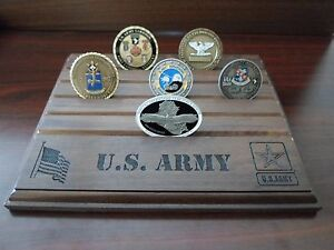 CHINOOK Fly Army Military Challenge Coin Holder//Display 8x10