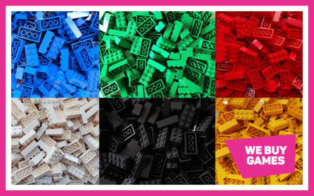 Choose Your Colour Or Mixed Colours 50 Pieces LEGO Choice Of 50 Used Bricks