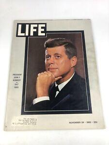 Vintage LIFE Magazine: President John F. Kennedy (1917-1963) - November 29, 1963