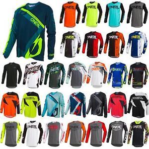 O-039-Neal-elemento-Mayhem-JERSEY-Racewear-Motocross-Maglia-MX-DH-FR-MTB-MOUNTAIN-BIKE