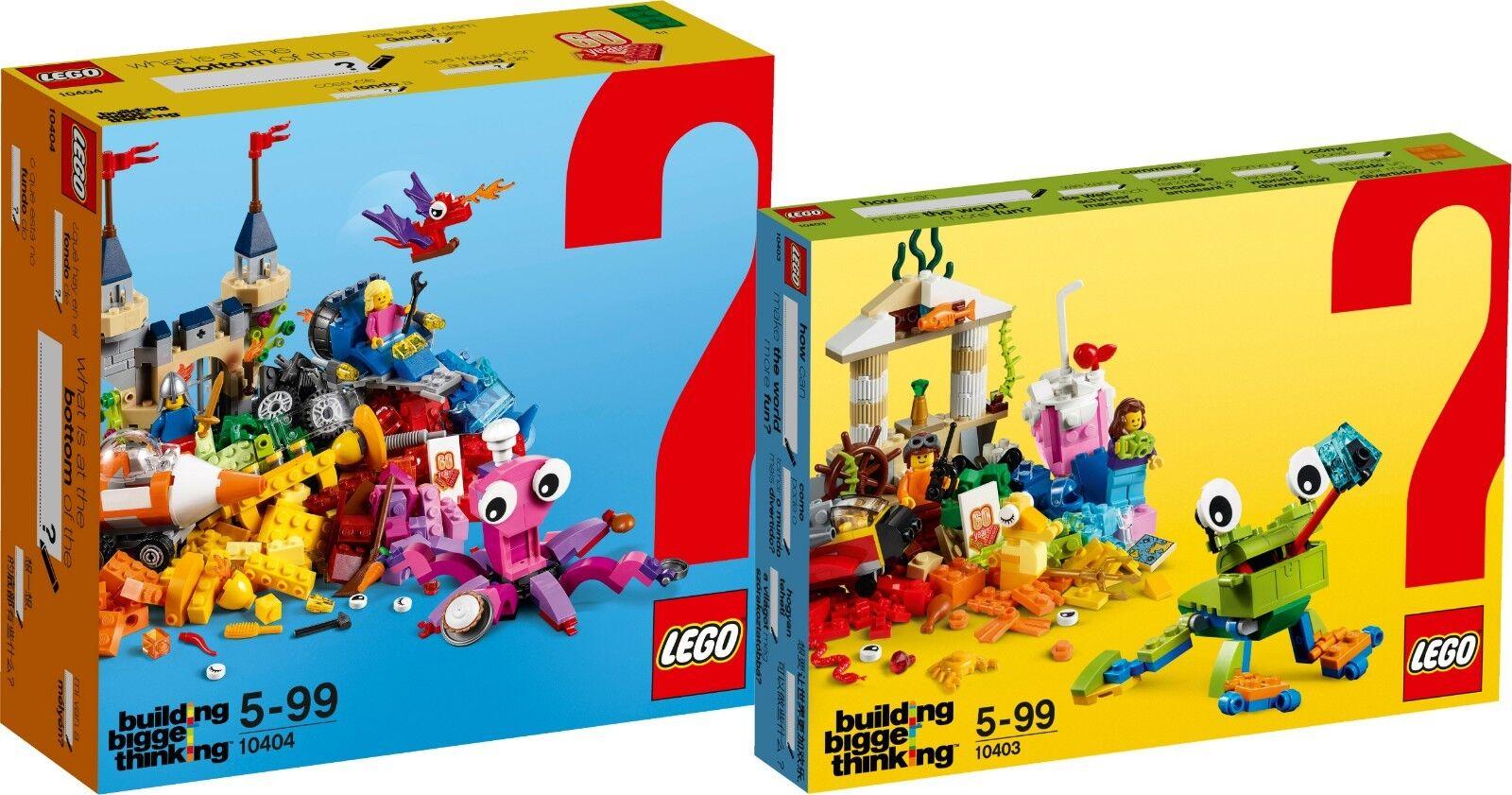 Lego Classic en el lecho marino 10404 y 10403 en diversión del mundo n2 18