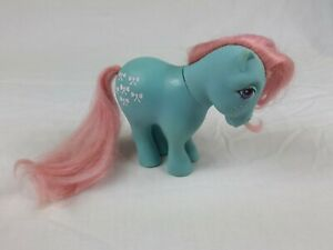 My-Little-Pony-G1-Bow-Tie-Shy-Pose-Vintage-Toy-Hasbro-1982-Collectibles-MLP