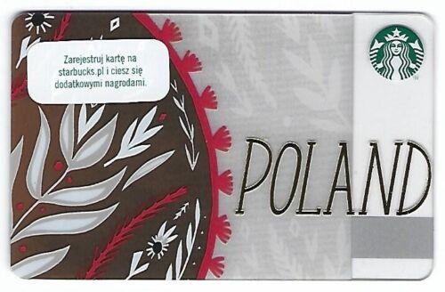 Geschenkkarte Starbucks Card Poland Polen first country card Special Edition