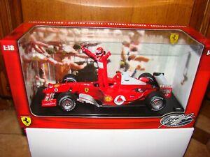 Ferrari F2004 7 Fois World Champion M.schumacher 1/18eme Limited Tres Rare