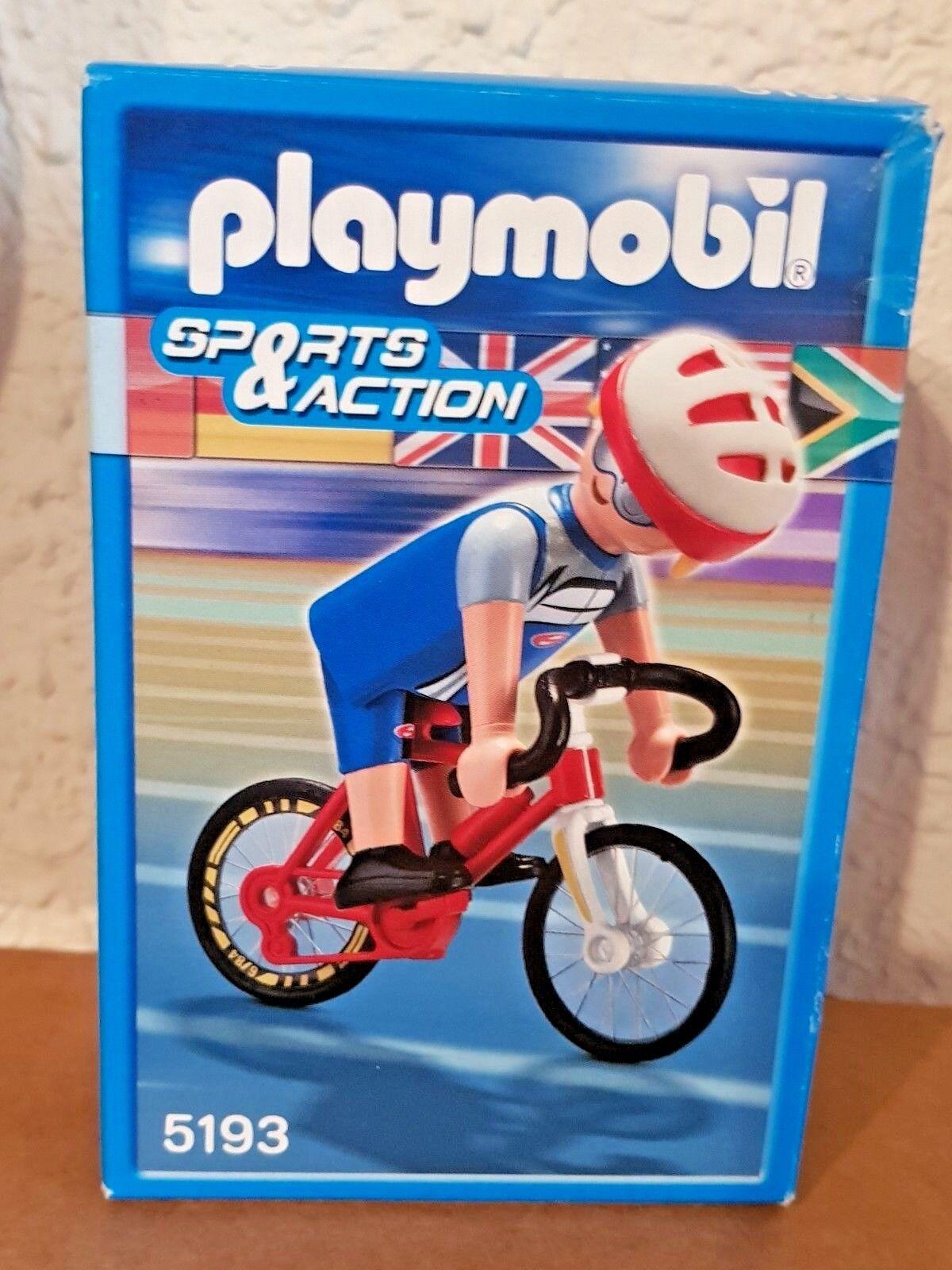 PLAYMOBIL Olympic 5193 Race Bicycle Cyclist (Sports&azione)  RARE  promozioni di squadra