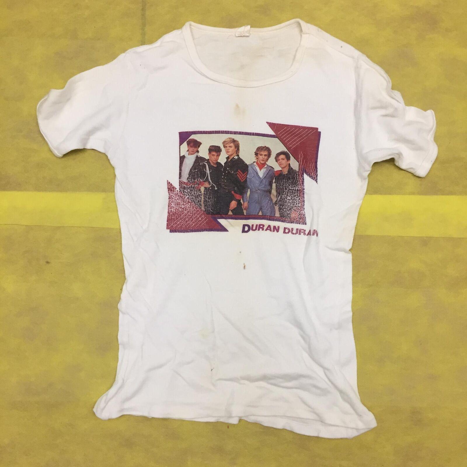Duran Duran Vintage 1980's Mens Graphic Music Group T Shirt
