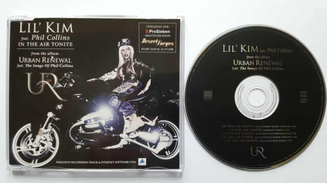 █▬█ Ⓞ ▀█▀ Ⓗⓞⓣ IN THE AIR TONIGHT Ⓗⓞⓣ LIL KIM Ⓗⓞⓣ 5 Track CD PHIL COLLINS MCD