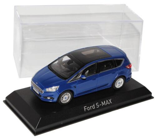 Generation Ab 2015 1//43 Norev Modell Auto mit oder ohne.. Ford S-Max Van Blau 2