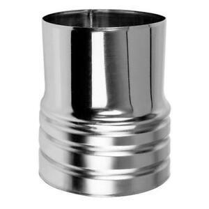 Metall Kanal Schlauchanschluss Alu Rohr Verbindungsstück Adapter Schreiner