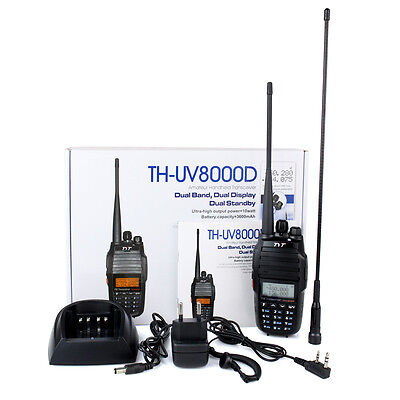 TYT TH-UV8000D Amateur  Walkie Talkie 256CH 10W VHF/UHFFM radio Two way Radio