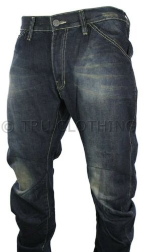 Low Rise Blue Crotch Jeans Twisted Washed Mens Casual 1fOnwxFBfW