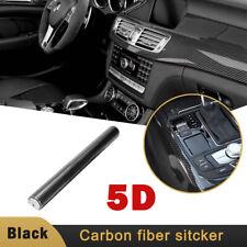 For Jeep 5d Black Car Carbon Fiber Vinyl Protect Sticker 12x 60 Shiny Gloss Fits 2012 Jeep Patriot