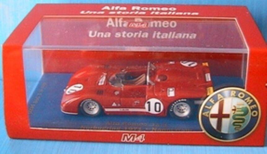 ALFA ROMEO 33.3 NURBURGRING 1971 NANNI GALLI M4  43 LIMITED EDITION