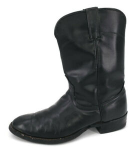 Laredo Cowboy Boots Mens 8.5D Black