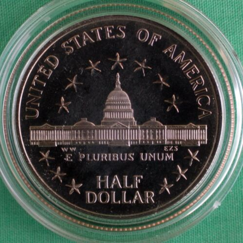 1989 S Congressional Proof Half Dollar US Congress 50c Commemorative COIN ONLY