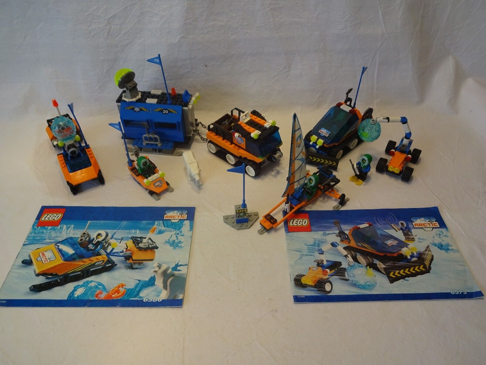 LEGO ® la raccolta Arctic 6520 mobile Outpost, 6573 Arctic Expedition, 6579, 6586