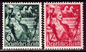 THIRD-REICH-1938-mint-MNH-Rise-to-Power-Anniversary-stamp-set-CV-24-00