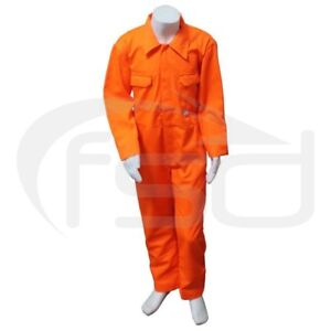 Orange - New Kids / Childs Boilersuit / Overalls / Coveralls (Various Ages)