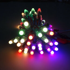 image is loading 50pcs ws2811 rgb led pixel full color diffused