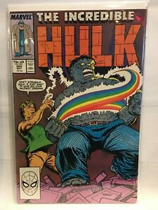 Incredible-Hulk-Vol-1-355-VF-NM-1st-Print-Marvel-Comics