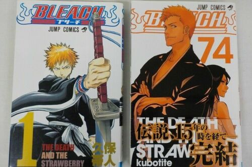 language Japanese 1-74 Used Japanese Comics  BLEACH vol