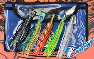 Brad J Marlin Tuna Game Fishing Trolling Lure Pakula Phantom Paua