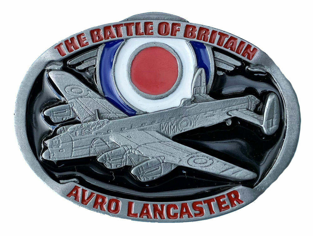 Lancaster Battle of Britain Belt Buckle with Presentation Box
