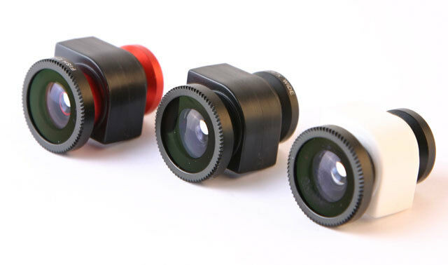 3 In1 Fisheye lens ,Wide Angle , Macro lens for iPhone 5 white blue color
