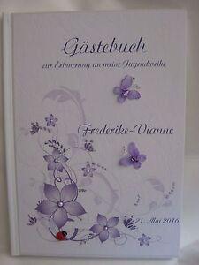 Gastebuch Jugendweihe Geschenk Deko Tischdeko Geschenkidee Ebay