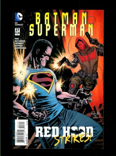 Batman Superman # 27 DC New 52, VF // NM Flat Rate Combined Shipping!