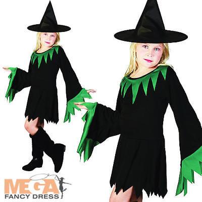Importato Dall'Estero Wicked Witch Ragazze Halloween Fiaba Costume Bambino Per Bambini Vestito-mostra Il Titolo Originale